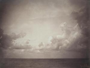 Seascape: Vue de Mer, Ciel Nuageu by Gustave Le Gray