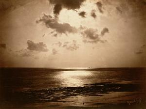 Solar Effect - Ocean, 1857 by Gustave Le Gray