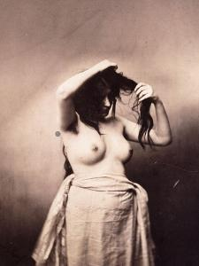 Standing Female Nude, C.1855 by Gustave Le Gray