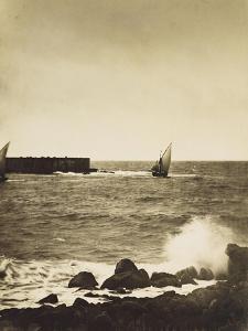 The Broken Wave; La Vague Brise-Mer, Mediterranee by Gustave Le Gray