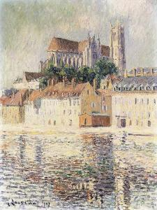 Cathedrale D'Auxerre by Gustave Loiseau
