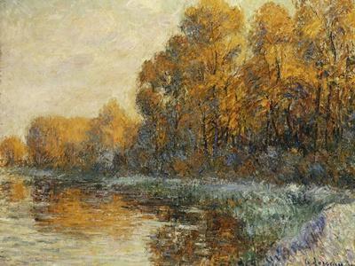 Edge of the River in Autumn; Bords De Riviere En Automne, 1912