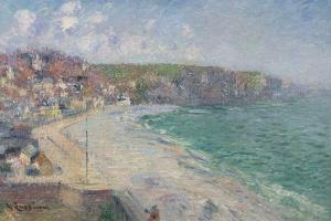 Plage at Falaises by Gustave Loiseau