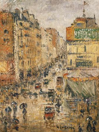 Rue De Clignancourt, Paris, C.1924