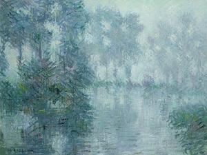 The Banks of the Eure by Gustave Loiseau