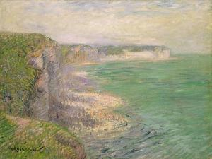 The Cliffs at Fecamp, C.1920 by Gustave Loiseau