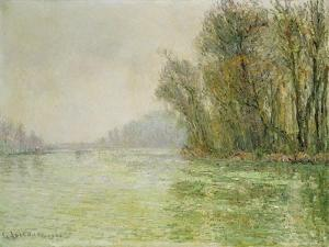The Oise in Winter, 1906 by Gustave Loiseau