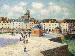 The Quay at Dieppe in Sunlight, 1905 by Gustave Loiseau