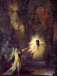 Apparition by Gustave Moreau