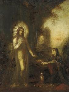 Christ and Mary Magdalene (Noli Me Tangere), C.1889 by Gustave Moreau