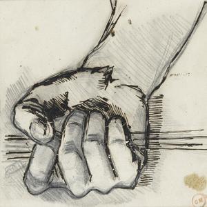 Etude de poing by Gustave Moreau