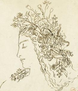 Etude pour Galatée by Gustave Moreau