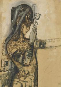 Etude pour Salomé by Gustave Moreau