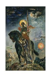 Fate and the Angel of Death, 1890 by Gustave Moreau