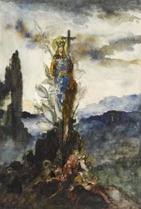 Fleur mystique by Gustave Moreau