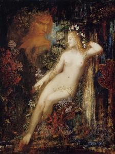 Galathea by Gustave Moreau