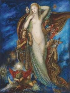 Helen Glorified, 1896 by Gustave Moreau