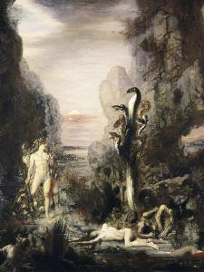 Hercules and the Hydra by Gustave Moreau