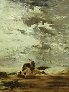 Horseman by Gustave Moreau