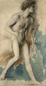 Jeune frondeur by Gustave Moreau