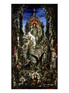 Jupiter et Semele by Gustave Moreau