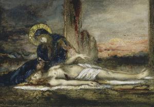 La Pietà by Gustave Moreau