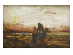 Le bon Samaritain by Gustave Moreau