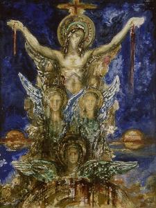 Le Christ Rédempteur by Gustave Moreau