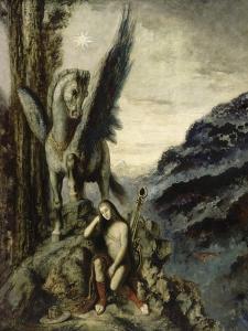 Le Poète voyageur by Gustave Moreau