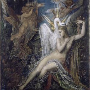 Léda by Gustave Moreau
