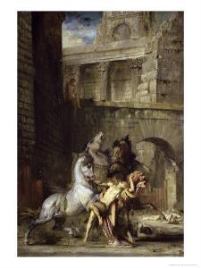 Les Chevaux de Diomede by Gustave Moreau