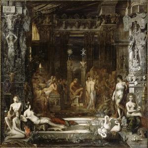 Les Filles de Thespius by Gustave Moreau