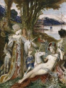Les Licornes by Gustave Moreau