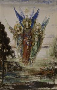 Les Voix du soir by Gustave Moreau