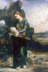 Orpheus, 1865 by Gustave Moreau
