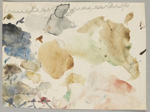 Palette d'aquarelle by Gustave Moreau