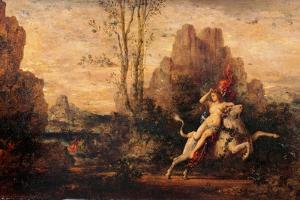 Rape of Europa by Gustave Moreau