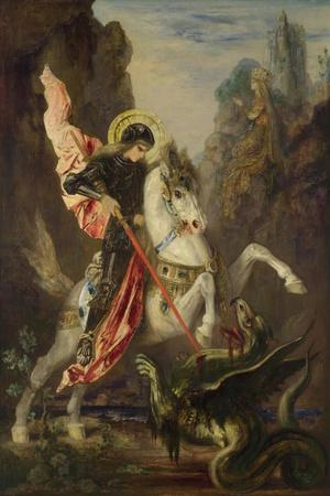 Saint George and the Dragon, 1889-1890
