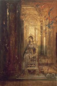 Sainte Cécile by Gustave Moreau