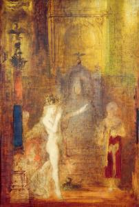 Salome Dancing before Herod, c.1876 by Gustave Moreau
