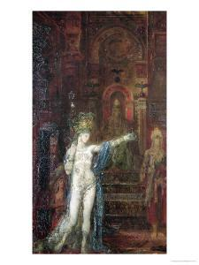 Salome Dancing Before Herod, circa 1874 by Gustave Moreau