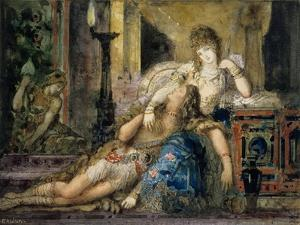 Samson and Delilah by Gustave Moreau