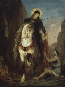 St. Martin by Gustave Moreau
