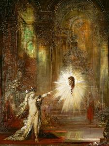 The Apparition. (1874). by Gustave Moreau