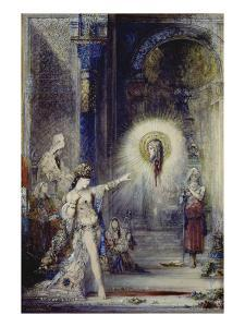 The Apparition. (Sketch) by Gustave Moreau