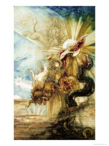 The Fall of Phaethon by Gustave Moreau