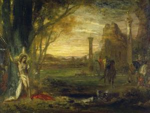 The Martyrdom of Saint Sebastian by Gustave Moreau