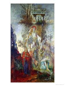 The Muses Leaving Their Father Apollo to Go out and Light the World, 1868 by Gustave Moreau