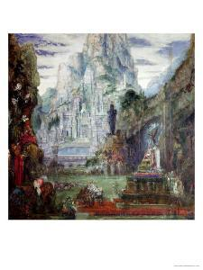 The Triumph of Alexander the Great by Gustave Moreau