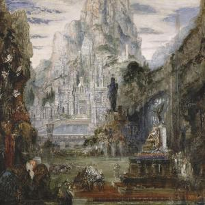 Triomphe d'Alexandre le Grand by Gustave Moreau